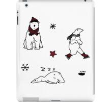CHRISTMAS POLAR BEAR PATTERN iPad Case/Skin