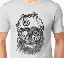 Decaying Skull  Unisex T-Shirt