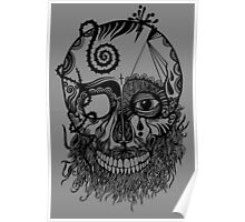 Decaying Skull  Poster