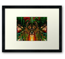Chinese Dragon Smile Fx  Framed Print