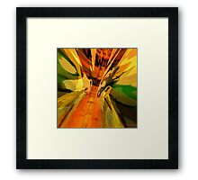 Abstract Dragon Fx  Framed Print