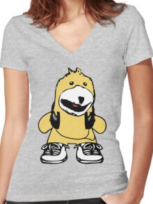 Mr. Oizo - Flat Eric Women's Fitted V-Neck T-Shirt
