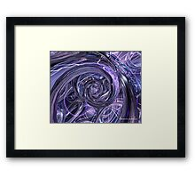 Eternal Depth of Abstract Fx  Framed Print