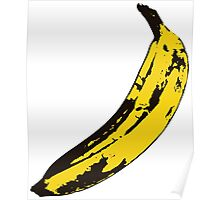 Banana Andy Warhol for scale Poster