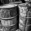 Barrels B/W by Adam Northam