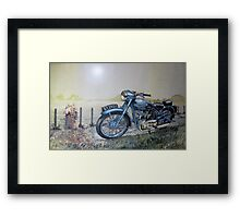 Before you Vanish out of View Framed Print