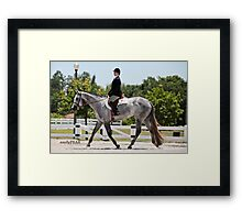 A Trot in the Park Framed Print