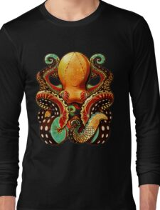 the octopus Long Sleeve T-Shirt