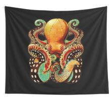 the octopus Wall Tapestry