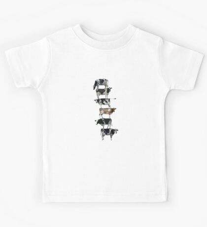 Cow stack Kids Tee