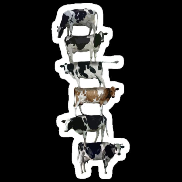 Cow stack by Matt West