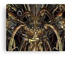 Abstract Horned Owl Fx  Canvas Print