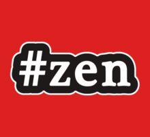 Zen - Hashtag - Black & White Kids Tee
