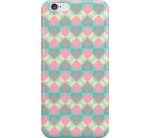Colorful Diamond Pattern iPhone Case/Skin