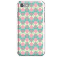 Colorful Diamond Pattern iPhone Case/Skin
