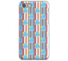 Flower Octopus Striped Pattern iPhone Case/Skin