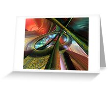 Fast Color Picasso Fx  Greeting Card