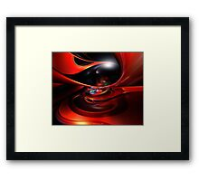 Remaster ColorFast Eye Fx  Framed Print