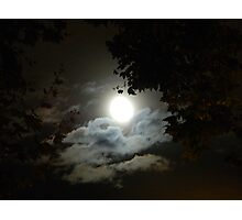Spooky silouette Photographic Print