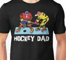 Funny Hockey Dad Unisex T-Shirt