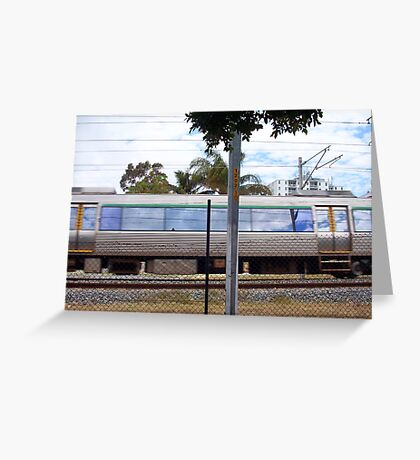 Train Three Greeting Card
