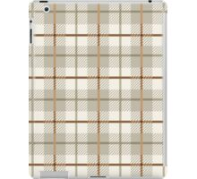 Cozy Plaid iPad Case/Skin