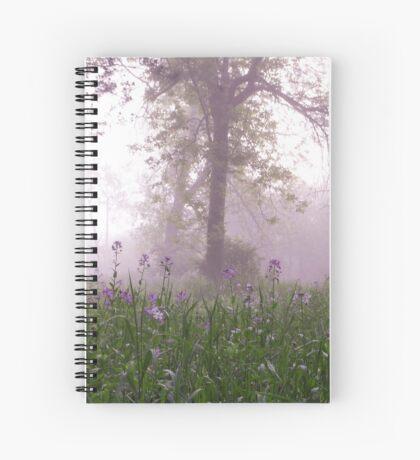 lavender morning Spiral Notebook