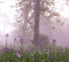 lavender morning Sticker