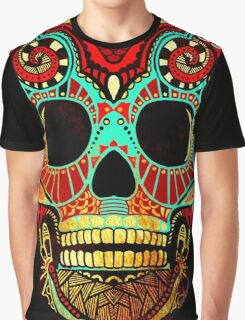 Grunge Skull No.2 Graphic T-Shirt