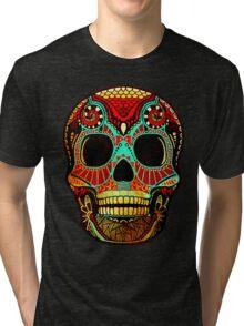 Grunge Skull No.2 Tri-blend T-Shirt