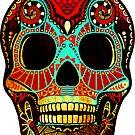 Grunge Skull No.2 by Kerstin Schoene
