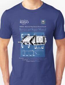 RHINO - Relatively Huge Interior Normal Outside Unisex T-Shirt