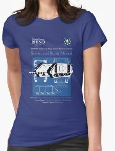 RHINO - Relatively Huge Interior Normal Outside Womens Fitted T-Shirt