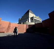 Shrine of Remembrance by firmanaja