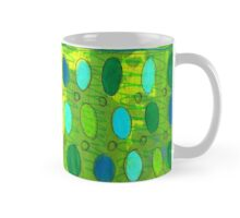 green abstract Mug