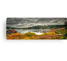 Gig Harbor Autumn Canvas Print