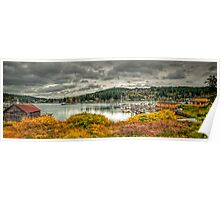 Gig Harbor Autumn Poster