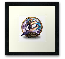 Aatrox Justicar - League of Legends Framed Print
