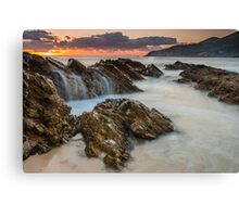 Sunrise in Foster NSW Canvas Print