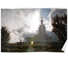 Kennewick Washington LDS Temple Poster