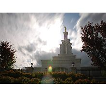 Kennewick Washington LDS Temple Photographic Print