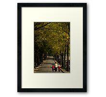 Generation path Framed Print