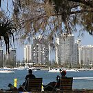 Relaxing On The Gold Coast by aussiebushstick