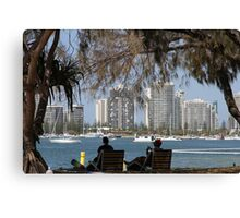 Relaxing On The Gold Coast Canvas Print