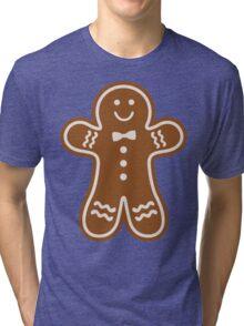 Gingerbread Hugs Tri-blend T-Shirt