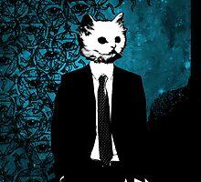 Cat Suit iPhone Case by ABD GRAND CODA