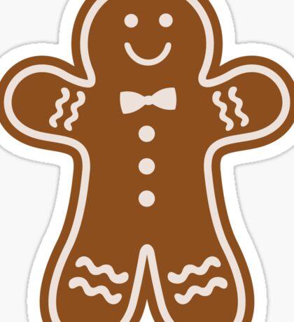 Gingerbread Hugs Sticker