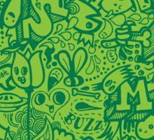 Slime Splat Doodle  Sticker