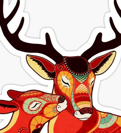 My Dear Deer Sticker