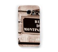 Rue Du Montparnasse Samsung Galaxy Case/Skin